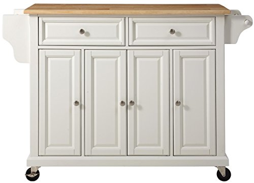 Crosley Furniture Rolling Kitchen Island With