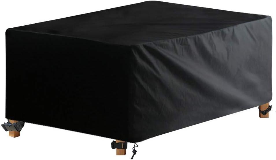 Awnic Funda de Muebles de Jardín Funda para Mesa Jardín Impermeable Resistente al Desgarro Tela Oxford 210X120X80cm