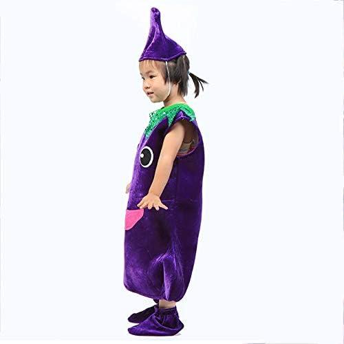 Traje verduras frutas niños Ropa de fiesta de berenjena para niños ...