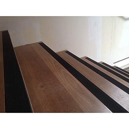 StickersLab Strisce pellicole adesive antiscivolo nero esterni interni scale pavimenti 25//50//100//230mm 230mm x 1MT