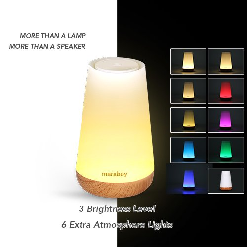 Touch Control Table Lamp with Bluetooth Speaker - Led Smart Touch ...