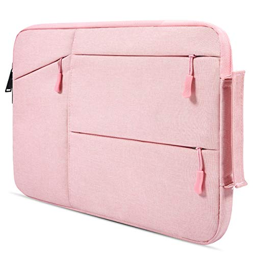 360° Waterproof Laptop Briefcase Bag for MacBook Pro 15 Inch 2018/ Dell XPS 15 9575/ Acer Chromebook 14/ HP 14