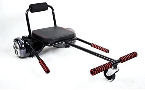 HoverKart ou Karting Smartboard pour gyropode, Scooter, Hoverboard - siège rouge (Noir): Amazon.es: Deportes y aire libre