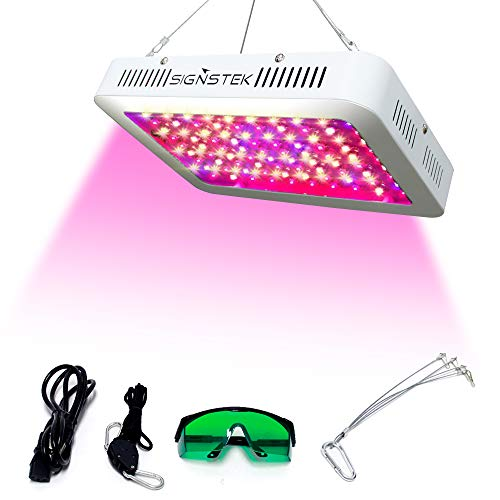 Signstek Full Spectrum Plant Light 1000W Flower Grow Lights Veg Growing Lamp Full Spectrum Powerful Panel with Daisy…