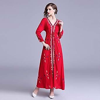 Y&D Multi Color A Line Maxi Dress For Women