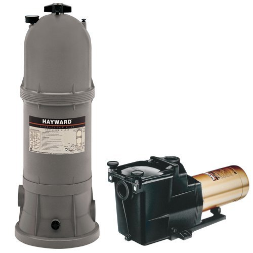 Hayward Star Clear Plus 120 sq. ft. In Ground Pool Cartridge Filter System