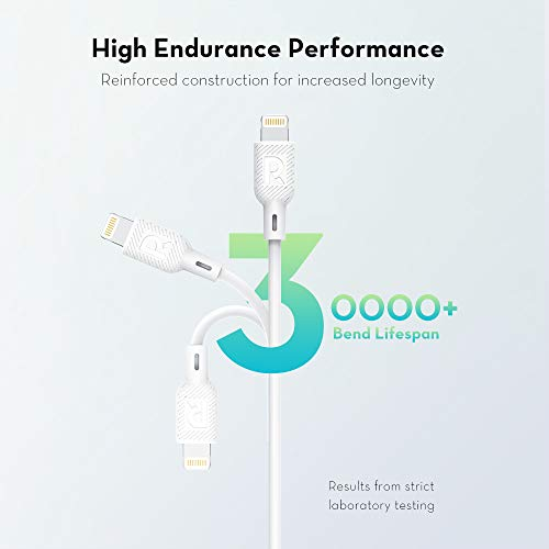USB C to Lightning Cable RAVPower [3Ft Mfi Certified] Supports Power Delivery Fast Charging with Type C Pd Charger Compatible with iPhone 11/ Pro/Max/X/XS/XR/XS Max/8/Plus