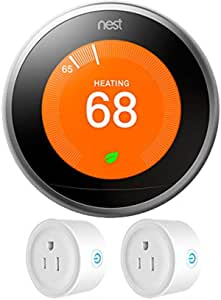 REPLACEMENT PART Nest 2nd Generation Learning Thermostat Stainless Steel READ