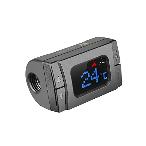 - Thermaltake Pacific Temperature Sensor G 1/4 Digital Display with Alarm CL-W151-CU00BL-A