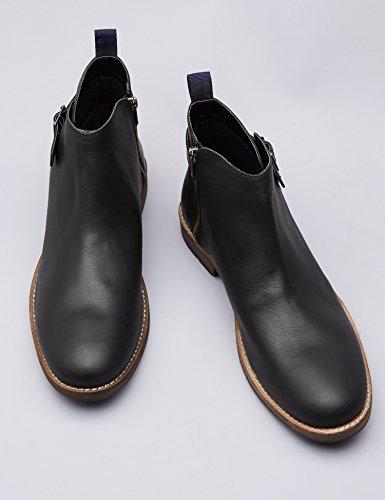 para Find Hombre Botines Clásicos Negro Black 88w6EYq