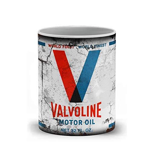 Coffee Mugs for men - Valvoline Motor Oil