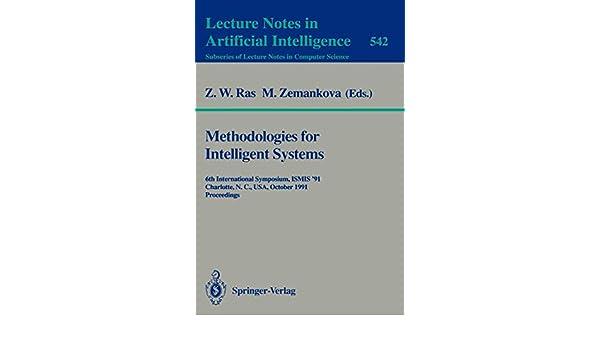 Methodologies for Intelligent Systems: 6th International Symposium