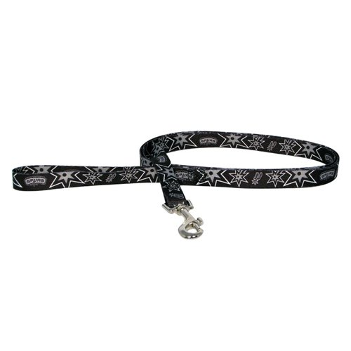 NBA San Antonio Spurs Pet Lead, Team Color, Medium