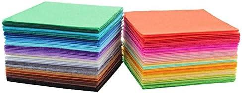 Xuccus Big Size 2020cm 2030 Handmade Felt Fabric DIY Craft feltro para artesanato telas vilt feutrine Felt Flowers Balls Felting Wool - (Color: Black, Ships from: China, Size: 20cm30cm)