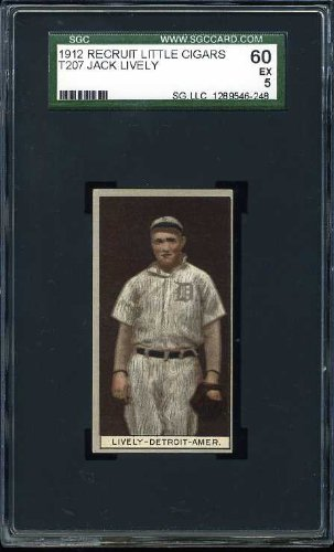 1912 T207 Recruit JACK LIVELY - Detroit - SGC -
