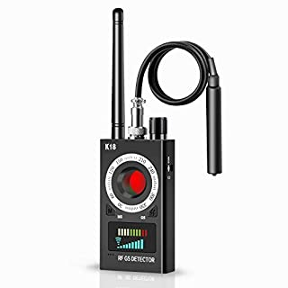 Bug Detector Hidden Camera Detector - Anti Listening Devices for Spying/GPS Tracker/RF Signal Wireless/Eavesdropping Device, Radio Frequency Detector & Spy Camera Finder