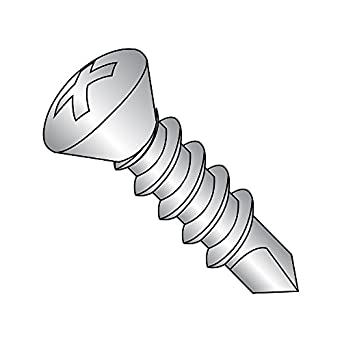 Pan Head Type B 18-8 Stainless Steel Sheet Metal Screw Plain Finish Pack of 50 #8-18 Thread Size 1//2 Length Phillips Drive