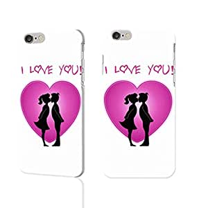 """I Love You 3D iphone 6 -4.7 inches Case Skin, fashion design image custom iPhone 6 - 4.7 inches , durable iphone 6 hard 3D case cover for iphone 6 (4.7""""), Case New Design By Codystore"""