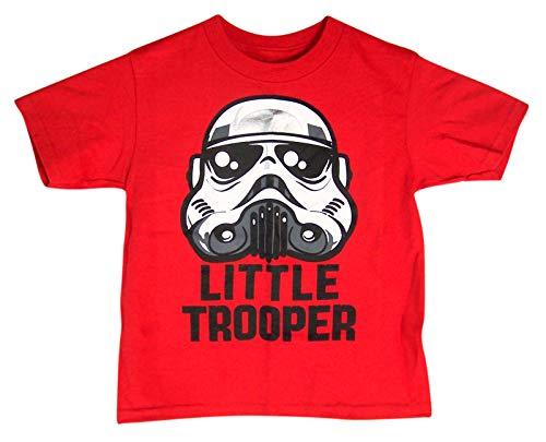 (Star Wars Toddler Boys Red Little Stormtrooper Helmet Shirt)