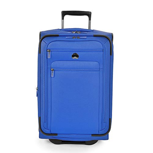(DELSEY Paris Delsey Luggage Helium Sky 2.0 21\ Carry-on 2 Wheel Expandable Trolley (Blue))