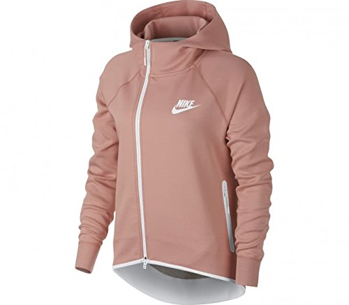 Nsw Flc white Rust Cape Tch Sweat Nike Pink Femme W Fz shirt Ffwa55