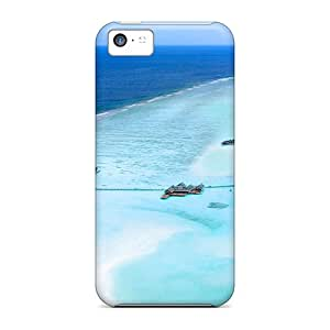 High-quality Durable Protection Case For Iphone 5c(luxury Lux Maldives Isl Resort)