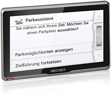 Navegador GPS 7 , 800 x 480 Pixeles, Flash Multi, Interno, Toda Europa, 17,8 cm Becker Active.7sl EU Fijo 7 Pantalla t/áctil 330g Negro navegador