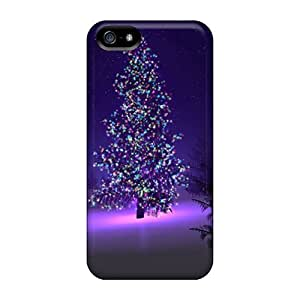 Fashionable ZrD2503gitD Iphone 5/5s Case Cover For Christmas 5 Protective Case