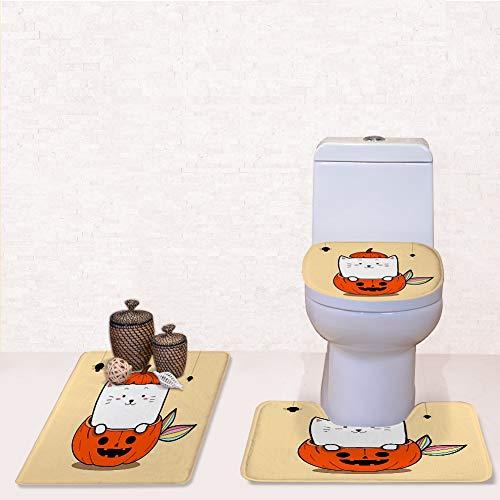 Bathroom Rug Mats Toilet lid Toilet Bath Mat,