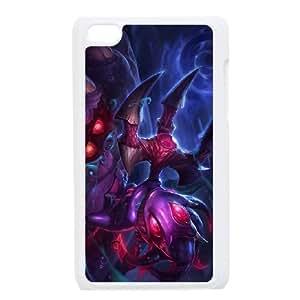 iPod Touch 4 Case White League of Legends Void Fizz EUA15976621 Jillians Phone Cases