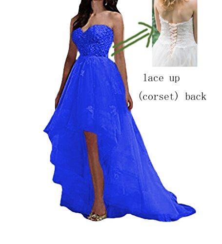 W Tuell Damen Hochzeitskleider Lange Rustikale Spitze Brautkleider D O Schwarz Ballkleider Kurze Vintage XWcqBZw5