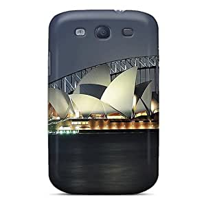 Premium JXjPwos7245oVZJI Case With Scratch-resistant/ Sydney Photo Over Shadowed Case Cover For Galaxy S3