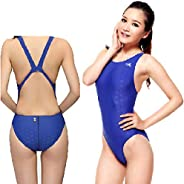 FINA Approved Swimsuit One Piece Racing Swimsuit for Girls Competition Swimsuit Training Swimsuit Women Size 4