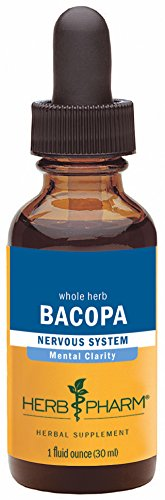 Bacopa Extract - Herb Pharm Certified Organic Bacopa Extract for Brain Support - 1 Ounce