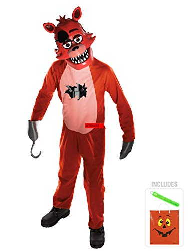 Five Nights at Freddys Foxy Child Costume Kit M with Safety ()