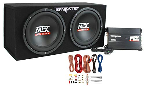 MTX-TNP212D2-12-1200W-Dual-Loaded-Car-Subwoofer-Audio-SubBoxAmplifierAmp-Kit