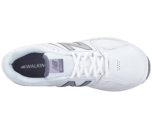 (ニューバランス) New Balance レディースウォーキングシューズ?靴 WW847v3 White/Grey 6.5 (23.5cm) B - Medium