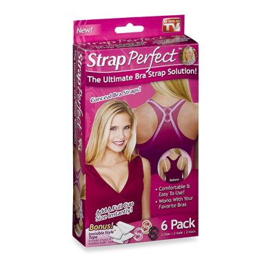 Idea Village Strap Perfect, Assorted Colors, 6 pack and contains 1 package of 24 pieces