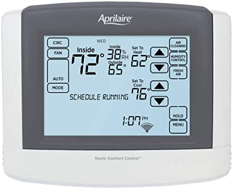 Image result for Aprilaire 8910W Touch Screen Wi-Fi IAQ Thermostat
