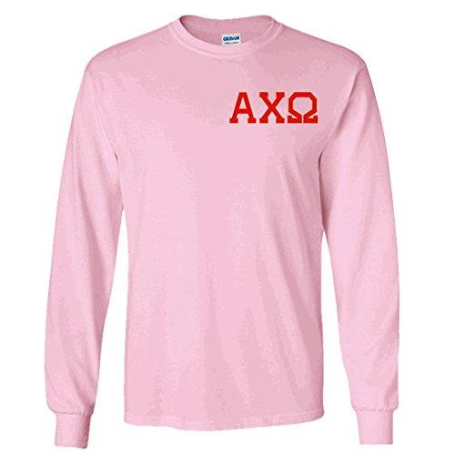 alpha chi omega letter shirts - 9