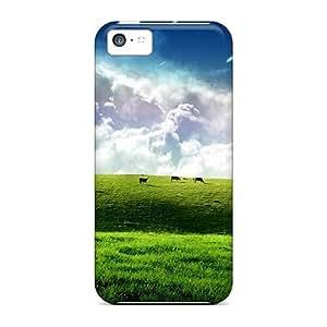 Excellent Design Shooting Stars Phone Case For Iphone 5c Premium Tpu Case