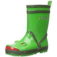 Kidorable Boys Frog Rubber Rain Boots