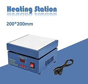 800W Elektrische Heizplatte Microcomputer Controll Vorwärmstation Vorwärmer