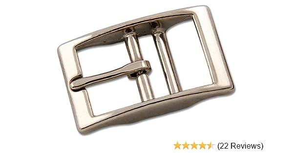 CHOOSE YOUR SIZE 10 PRESSED STEEL GUN METAL ROLLER BUCKLES