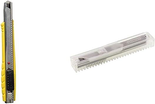 Set 10 Lame di ricambio per cutter 9 mm STANLEY 11-300