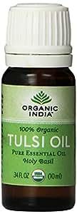 Organic India Tulsi Oil, 0.34 Fluid Ounce