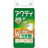 日本クレシアアクティ Wで消臭パンツ うす型 L-LL 14枚