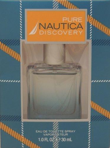 Nautica Pure Discovery For Men Eau de Toilette Spray ~ 1 Fl. Oz. -