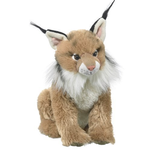 Wildlife Artists Lynx Plush Stuffed Animal Soft Toy