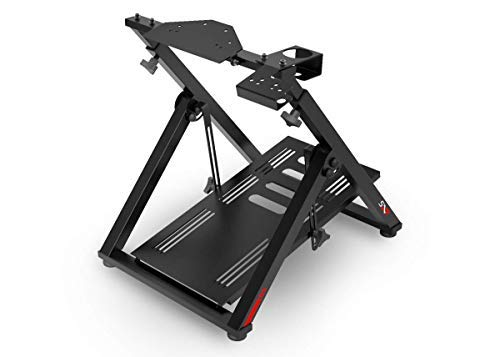Extreme Simracing Wheel Stand SXT Racing Simulator - Black Edition For Lgitech G25, G27, G29, G920, Thrustmaster And Fanatec - Wheel and Pedals are Not Included